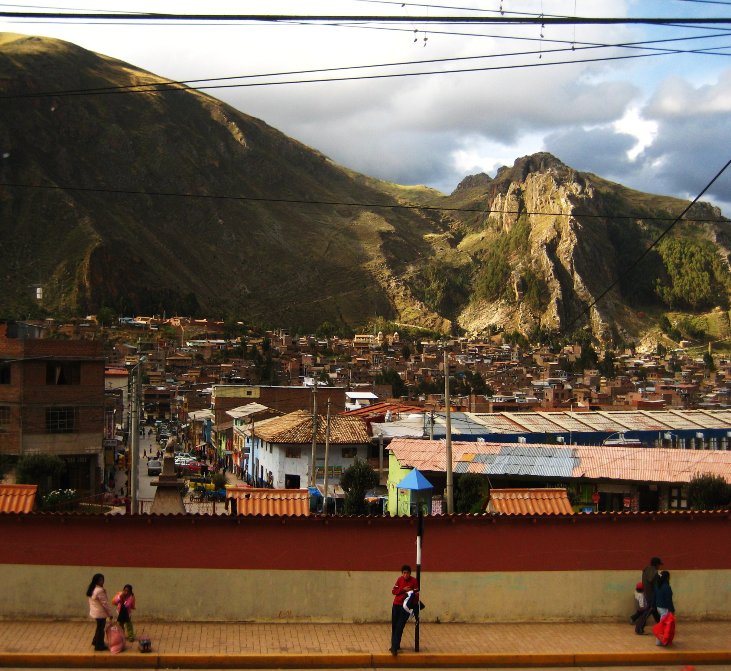 Huancavelica, An Andean Townandes town